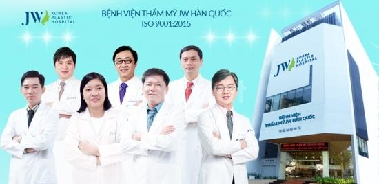 Gọt mặt V Line chuẩn Hàn Quốc tại bệnh viện JW