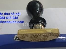 Chuyên khắc dấu đồng các loại giá rẻ