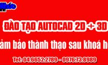 Địa chỉ học Autocad 2D, 3D gần Cầu Giấy