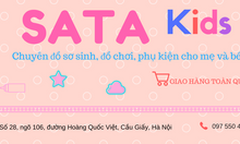 Sata Kis shop - khuyến mãi khủng cho mẹ bỉm sữa - hàng thật - ảnh thật