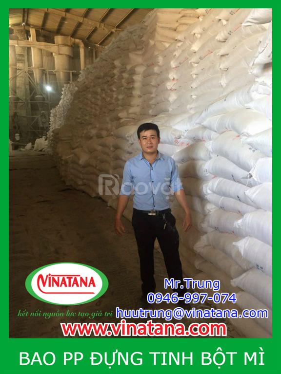 Bao pp đựng gạo 5kg, 10kg, 20kg, bao pp ghép màng