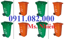Cần xả kho thùng rác các loại - thanh lý thùng rác 120 lít, 240 lít giá