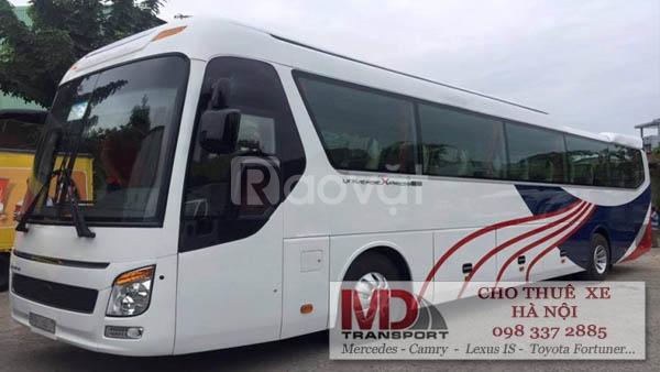 Xe du lịch 45 chỗ đời mới giá rẻ tại Hà Nội