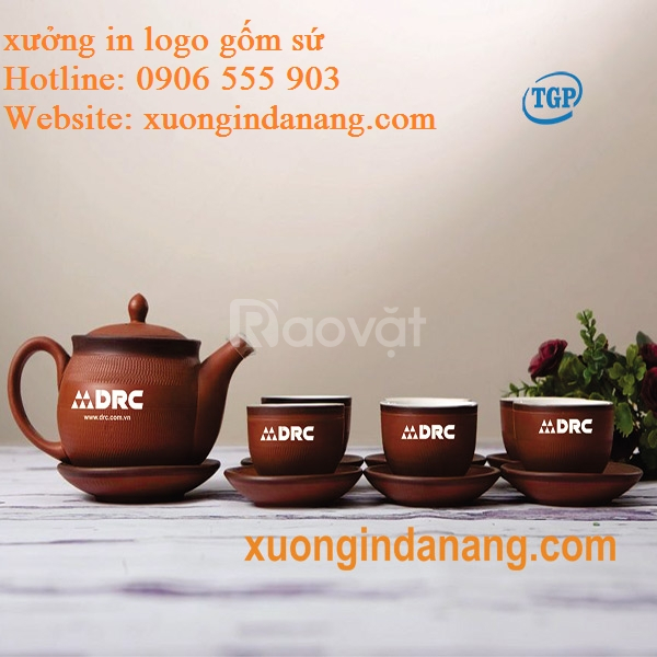 Sản xuất in ấn quà tặng gốm sứ tại Phú Yên