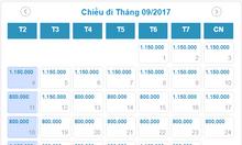 Vé Hà Nội đi Sài Gòn 1,2 triệu cả thuế, phí của VietnamAirline