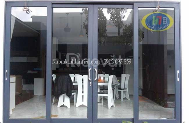 Làm cửa nhôm kính giá rẻ tại Hà Nội
