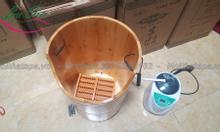 bồn xông chân,bồn tắm gỗ tại hà nội.