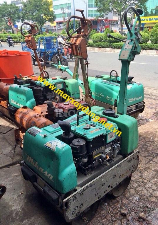 Cho thuê máy lu rung dắt tay giá rẻ tại Hà Nội
