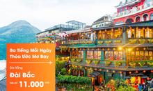 khuyến mãi vé Jetstar Đà Nẵng đi Đài Bắc chỉ 11k