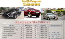 Cho thuê xe tự lái 4 chỗ 5 chỗ 7 chỗ đời mới giá rẻ khu Linh đàm