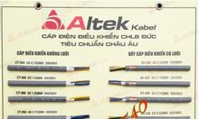 Phân phối cáp điều khiển Altek Kabel - Đức