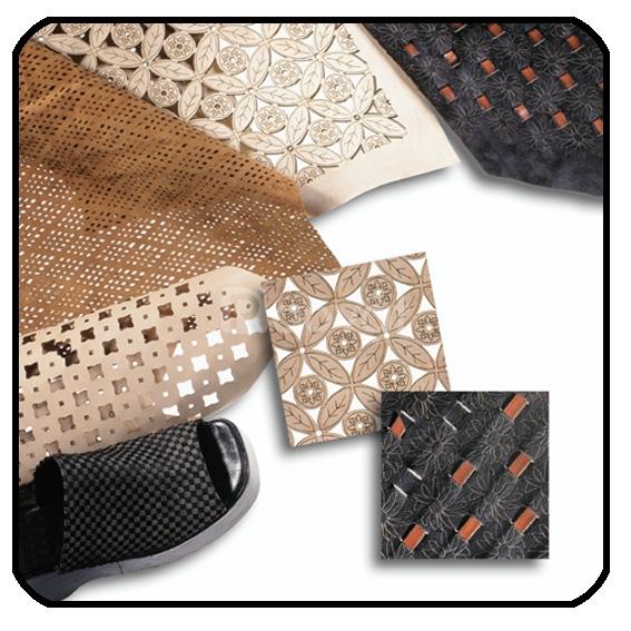 Cắt khắc Laser trên da, vải, simili, giấy, mica, alu, gỗ
