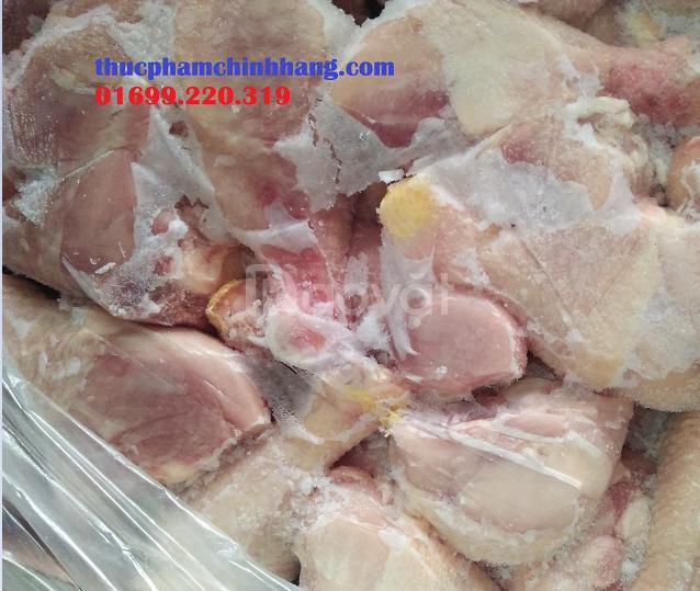 Phân phối gà đông lạnh ở Hà Nội