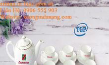 Sản xuất bộ ấm trà Quảng Nam, In logo ấm trà