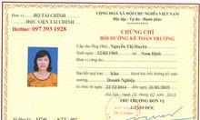Khóa học bồi dưỡng kế toán trưởng tại Quảng Ninh