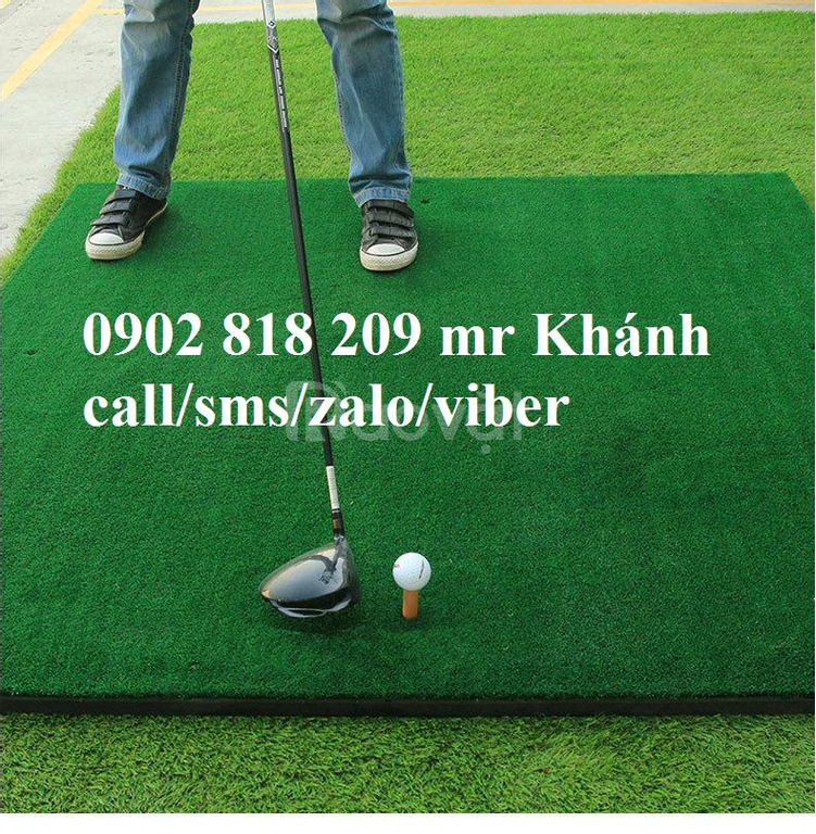 Thảm tập golf tại nhà, thảm phát banh golf