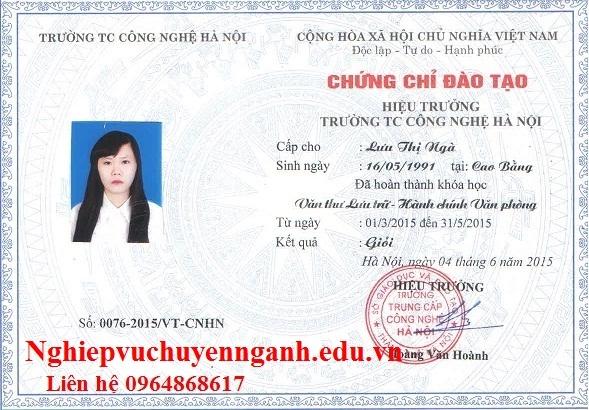 Học văn thư lưu trữ tại Cần Thơ, HCM, Nha Trang