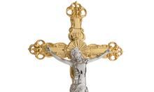 Tượng Công giáo mạ vàng 24K