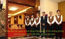 Khóa học nghiệp vụ lễ tân, buồng phòng quản trị khách sạn - nhà hàng