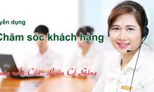 Nhân viên telesales tại văn phòng ở Thanh Trì