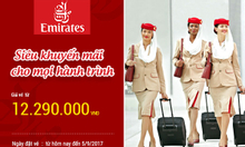 Emirates siêu khuyến mãi cho mọi hành trình