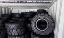 Lốp xe nâng đặc cho xe nâng điện và xe nâng dầu