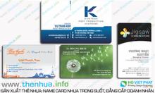 Đặt in thẻ cứng theo yêu cầu của khách hàng