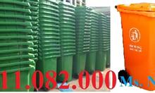 Bán thùng rác 120 lít, 240 lít giá rẻ - thùng rác hình thú mẫu mã đẹp