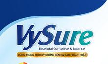 Sữa Vysure dinh dưỡng cho BN sốt xuất huyết