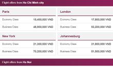 Qatar Airways: Giá rẻ bất ngờ, bay thỏa thích!