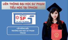 Liên thông đại học sư phạm tiểu học tại Đại học sư phạm TpHCM