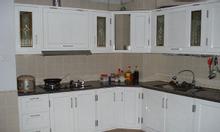 Nhận lắp đặt tủ bếp nhôm kính đẹp giá rẻ tại Đông Anh