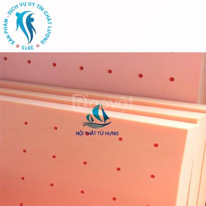 Nệm cao su kim cương ngang 1m4 X dài 2m X dày 12cm NKC-03