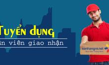 Tuyển nhân viên đóng hàng và giao hàng nam làm tại SanHangRe Hà Nội
