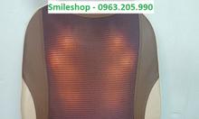 Đệm massage toàn thân, ghế mát xa hồng ngoại tặng gối massage
