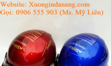 In mũ bảo hiểm quảng cáo quà tặng tại Đà Nẵng