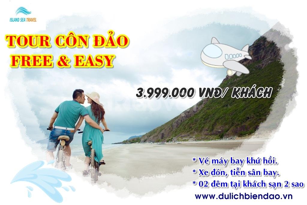 Vé máy bay Sài Gòn - Côn Đảo - Sài Gòn giá rẻ