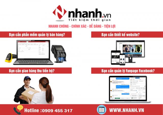 Khuyến mãi phần mềm quản lý bán hàng đa kênh nhanh.vn