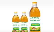 Dầu đậu phộng (dầu lạc) nguyên chất giá rẻ