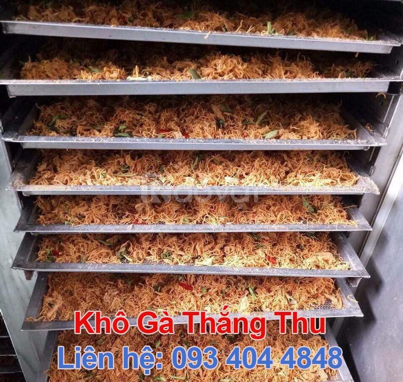 Xưởng chế biến khô gà Thắng Thu cung cấp số lượng - giá sỉ tại xưởng