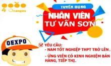Tuyển dụng nhân viên tư vấn Sơn tại Tiền Giang