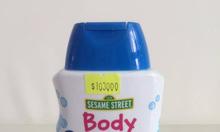 Sữa tắm cho bé SEASAME STREET