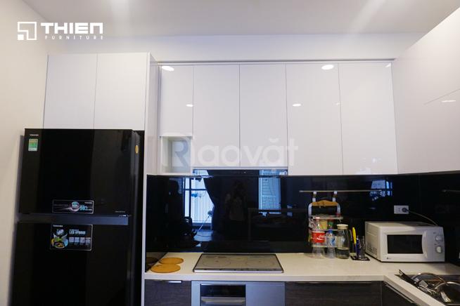 Thi công tủ bếp Acrylic ở Hà Nội