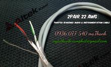 Cáp điều khiển 2 Pair 22AWG - Cáp tín hiệu vặn xoắn