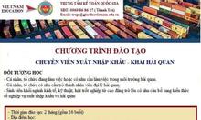 Đào tạo khai hải quan điện tử uy tín tại Hà Nội