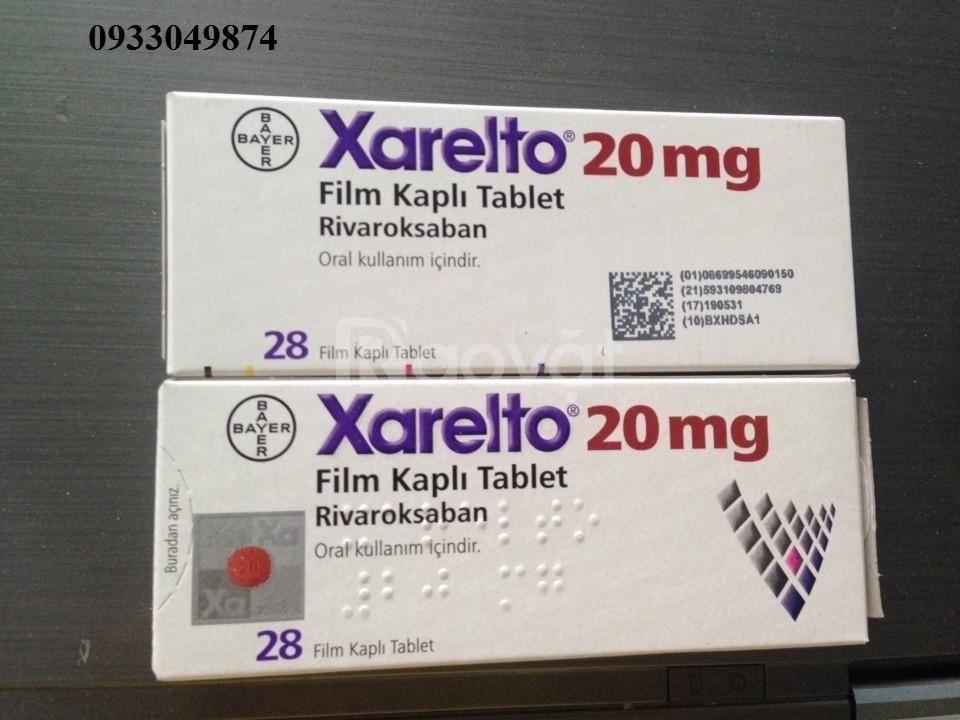 Giá thuốc Xarelto 20mg Rivaroxaban TPHCM, Hà Nội