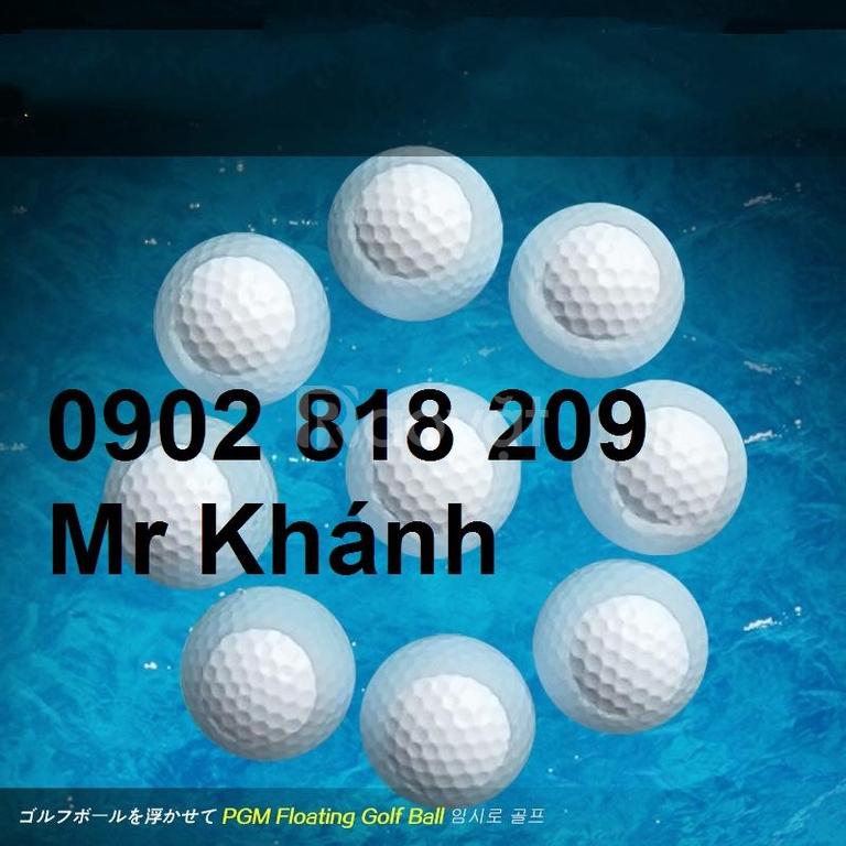 Bóng golf nổi đánh ra hồ, banh golf nổi