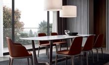 Bộ bàn ghế ăn cao cấp hiện đại cho nhà mặt phố, căn hộ tại HCM
