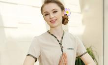 May đồng phục dành cho nhân viên spa