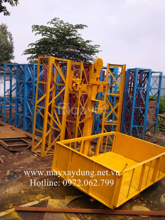 Vận thăng nâng hàng Hồng Đăng - vận thăng nâng hàng 500kg